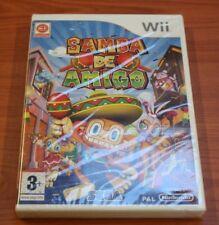 Nintendo WII SAMBA DE AMIGO neuf  BLISTER VF