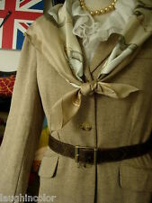 RARE Vintage LOUIS VUITTON Saks Fifth Ave Monogram Belt Wardrobe Accessory LV FC