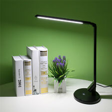 12W Dimmable Touch Sensor LED Desk Light Table Reading Book Lamp 800lm Modern