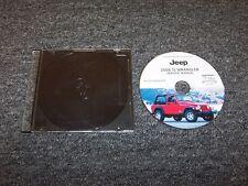 2006 Jeep Wrangler Shop Service Repair Manual DVD SE X Sport Unlimited Rubicon