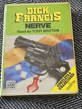 DICK FRANCIS - NERVE - Chivers audio book 6 CASSETTE