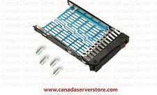 "Lot 10 x HP 2.5"" SATA SAS Tray Caddy 378343-002 for HP ProLiant G5 G6 G7"