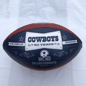 Dallas Cowboys 60th Anniversary 1960 - 2020 Wilson NFL The Duke Panel Football