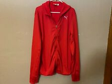 PUMA Sport Lifestyle Full Zip Hooded Sweatshirt Hoodie Size XL