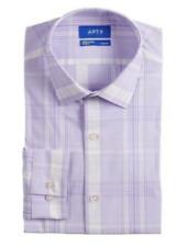 Men's Apt. 9 Slim-Fit Premier Flex Collar Stretch Fabric Dress Shirt Small 32/33