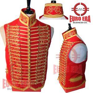 Napoleonic Light Cavalry Senior Officer Hussar Waistcoat Vest In All Sizes