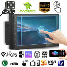 7'' 2DIN Android8.1 Auto Autoradio Navigatore Gps Bluetooth WIFI MP5 Retrocamera