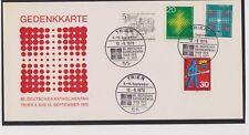 BRD-1970-GEDENKKARTE-83. DEUTSCHERKATHOLIKENTAG TRIER SONDERSTEMPEL LUXUS !!