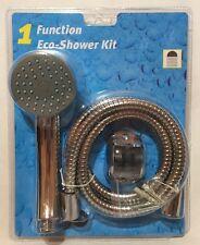 Función de 1 Kit de ducha eco-Cromo, Manguera & Soporte Hogar Auricular,