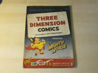 THREE DIMENSION COMICS #1 GOLDEN AGE HIGHER GRADE MIGHTY MOUSE 1ST 3-D COMIC WOW