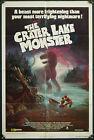 The Crater Lake Monster - original 1sh poster