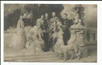 AK Die Kaiserfamilie Wilhelm II. mit Söhnen, nicht gelaufen