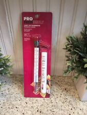 PRO FESHIONALS by GOOD COOK Candy/Fry Thermometer ~ 100 - 400 F ~ NEW