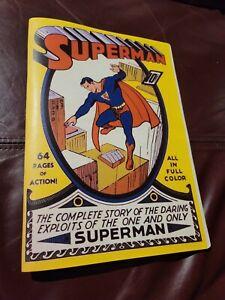 Superman Comics # 1  Golden Age Replica ☆☆☆☆ Classic Cover