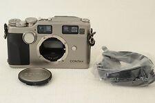 CONTAX G2 D 35mm Rangefinder Film Camera w/Data Back GD-2 [Excellent] (06-P46)