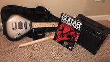 Hal Leonard Hl Guitar Pack Beginner- Includes Guitar/Amp/Case/Chord/Pic k