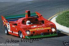 """Le MANS Driver ARTURO MERZARIO hand signed photo autograph 12x8"""" AG"""