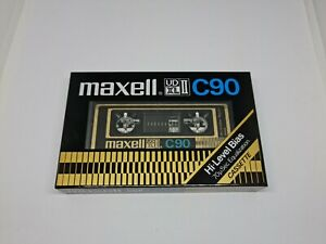 Maxell UDXL II C90 Cassette Tape (Sealed)