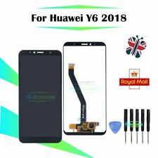 LCD Display Touch Screen Digitizer Black Replacement For Huawei Y6 2018 Assembly