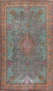 Antique Floral Medallion Traditional Area Rug Oriental Wool Hand-knotted 10x15