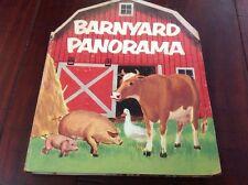 Barnyard Panorama Copyright 1954 1955 No. 918 Irma Wilde Cal Younger Fold Out Bk