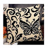 Vervaco - Cross Stitch Cushion Front Kit - Black & Cream Butterfly - 1200/941