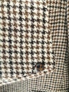 Chaqueta Harris Tweed Dunn & Co R 44, lana tonos marrones