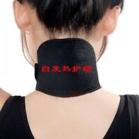 Tourmaline Thermal Health Pain Relief Self-Heating Neck Brace Support Strap Pad