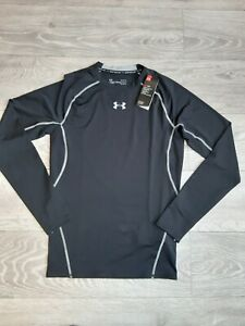 Under Armour Men's Heatgear Functional Long Sleeve Shirt Black Size L