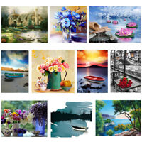 DIY 5D Diamond Painting Embroidery Cross Craft Stitch Kits Home Room Decor Art