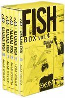 BANANA FISH Reprint Version BOX vol.4 w/ Photobook Comic Manga Set in Japanese