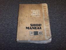 1983 Chevy Suburban C10 C20 C30 K10 K20 K30 Truck Shop Service Repair Manual