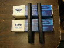 NOS OEM Ford 1975 1976 Lincoln Town Car Rear Bumper Guard Pads Impact Strips