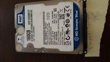"Western Digital WD1600BEVT  2.5"" SATA III Scorpio Blue 5400 RPM WORKING 160GB"