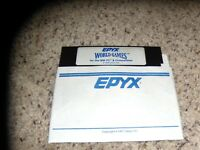"EPYX World Games IBM PC Game 5.25"" disk"