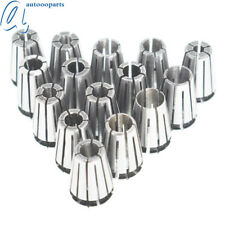 15pcs Spring Collet Set Er11 Collet Chuck Holder Wrench For Cnc Milling Lathe