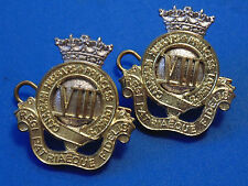 CANADA Armed Forces Princess Louise's VIII Canadian Hussars metal  collar badges