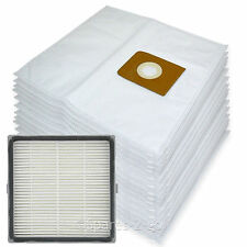 15 Cloth Bags + H13 HEPA Filter for Nilfisk King GM516 GM540 GM580 Vacuum