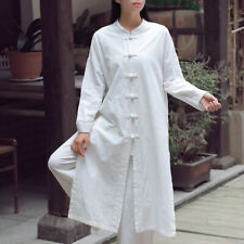 Women  Coat Chinese Tang Suit Top Martial Arts Kung Fu Uniform Vintage