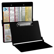 AUTHENTIC WHITECOAT CLIPBOARD - ANY EDITION - MEDICAL CLIPBOARD - BlACK COLOR