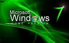 Microsoft Windows 7 Home Premium 32/64 Bits-Envió instantáneo-Soporte Técnico