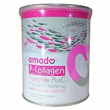Amado P-Collagen Tripeptide Plus Vit C Youthful Smooth Skin and Muscle 110000mg