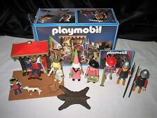 Vintage Playmobil 3659 Kings Court Medieval Magic Castle w/Box