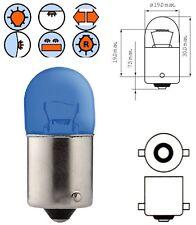 BULB 12V 10W BA15S BLUE SIDE INDICATOR TURN SIGNAL LIGHT CAR AUTO SCOOTER MOTO