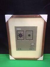 "IKEA RIBBA Frame 30 x 40cm 11 3/4"" x 15 3/4"" Brown Wood Discontinued HTF NEW."