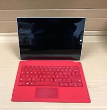 Microsoft Surface Pro 3 Core i5 1.90GHz 8GB Ram 256GB SSD12in -Silver+keyboard