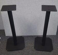 "Vega A/V All Steel Fill-Able Speaker Stands 24"""