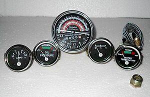 Massey Ferguson Tractor Gauge Kit Tachometer Anti Clockwise 35 133 135 140