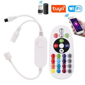 TUYA WIFI Smart Life Wireless Controller RGB/RGBW LED Strip For Alexa Google