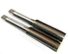 M12 x 1.25mm Metric Tap Set Tungsten Steel Taper and Plug Thread Cutter 2556